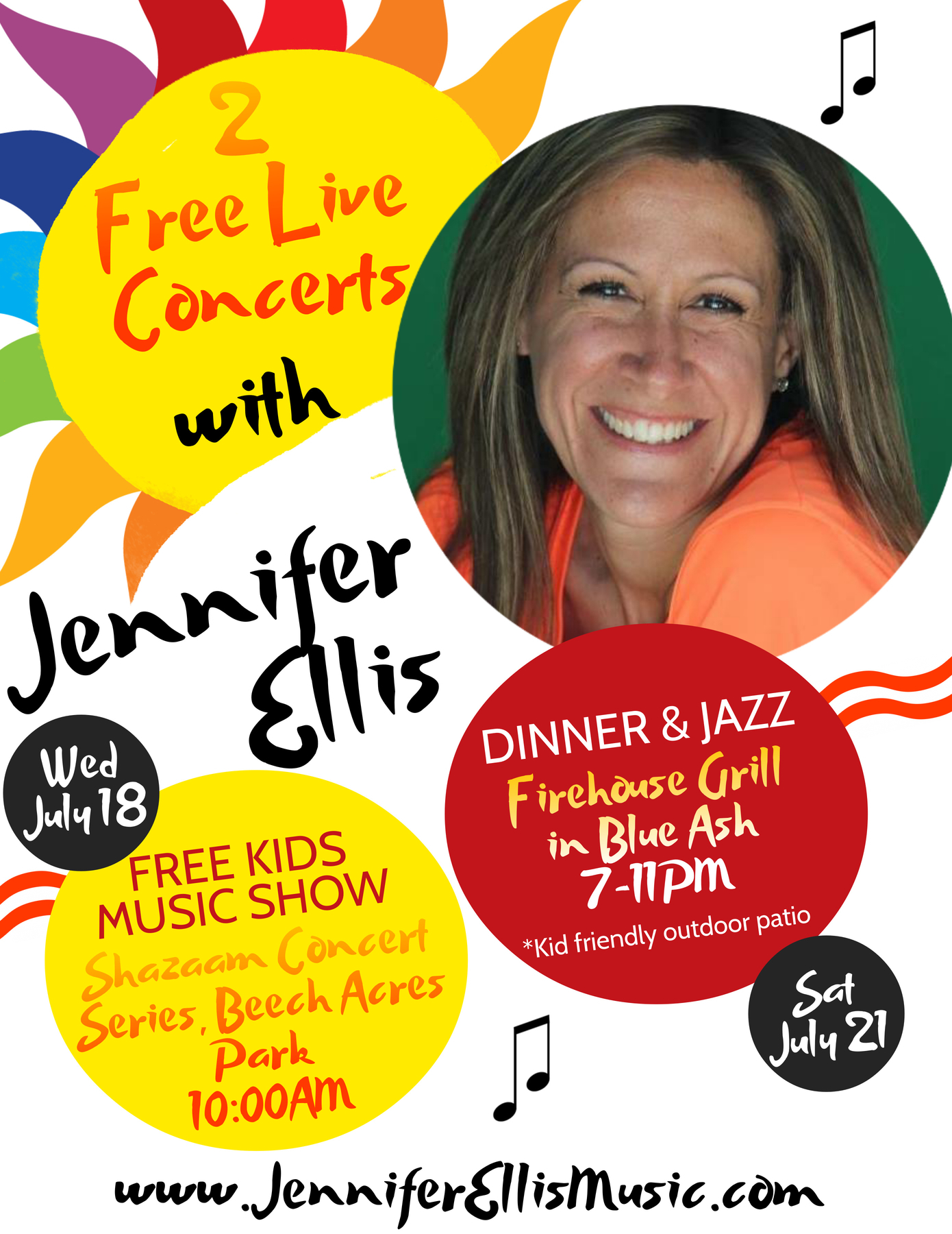 Jennifer Ellis Music