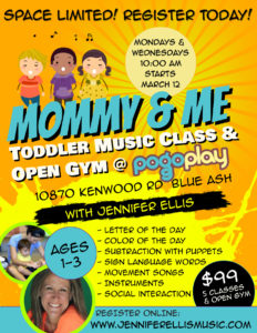 Jennifer Ellis Pogo Play Mommy And Me Toddler Music Class And Open Gym